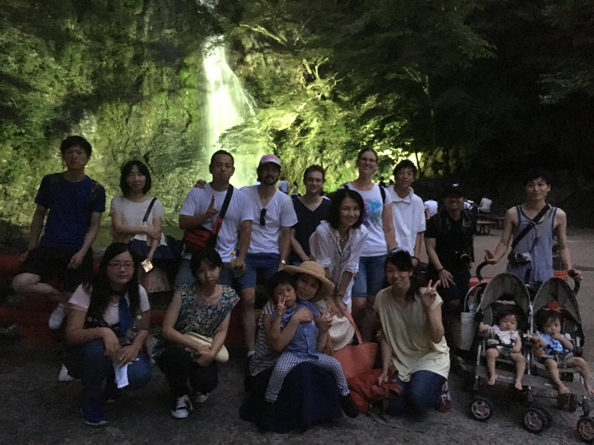 08/06/2017 Night Minoh Waterfall Hike..illuminations­­
