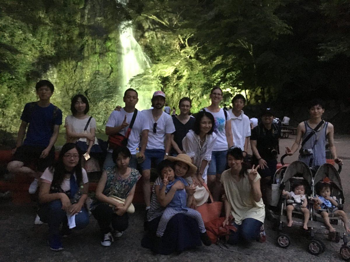 08/06/2017 Night Minoh Waterfall Hike..illuminations