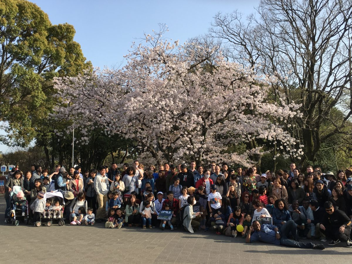 03/31/2018 First Big Hanami BBQ of 2018