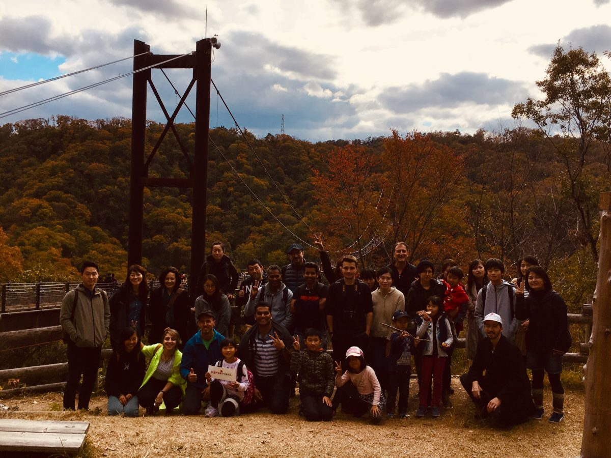 11/23/2018  Longest wooden footbridge in Japan Trek