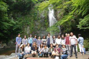 08/26/2018 Evening walk to Minoh waterfalls