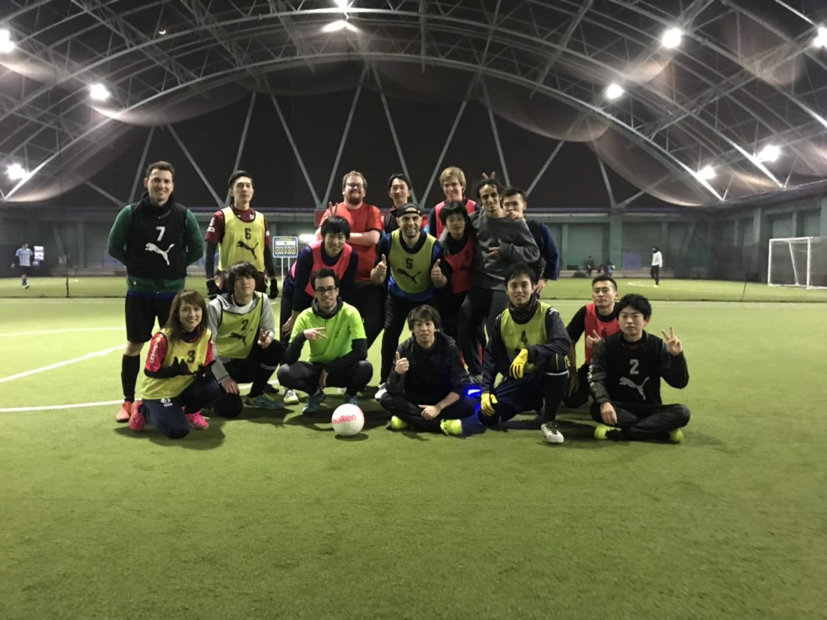 02/09/2019  Futsal Fun with New Friends