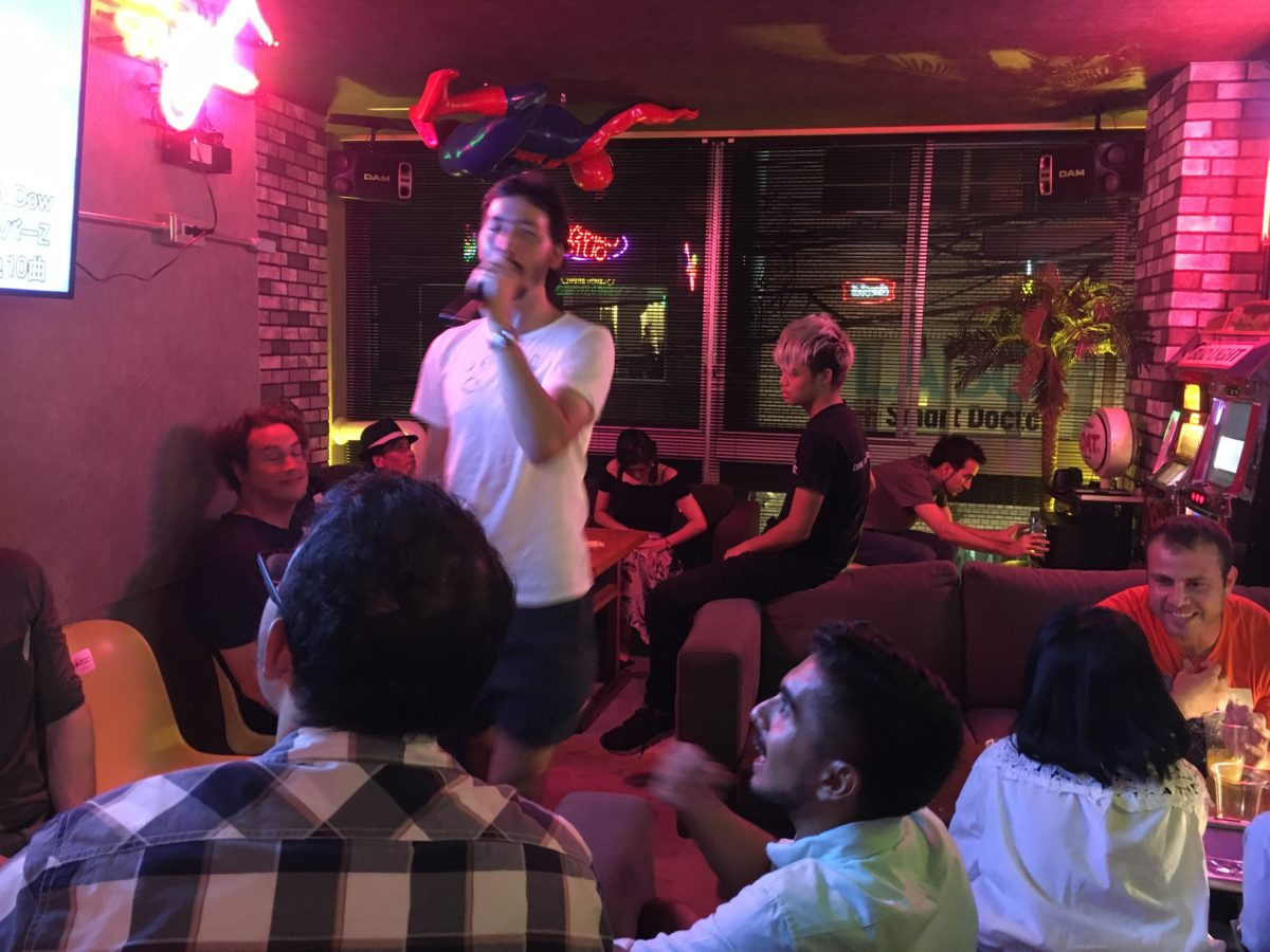 08/04/2017  Friday Krazy Karaoke Night #15 …33ppl…a blast!!!
