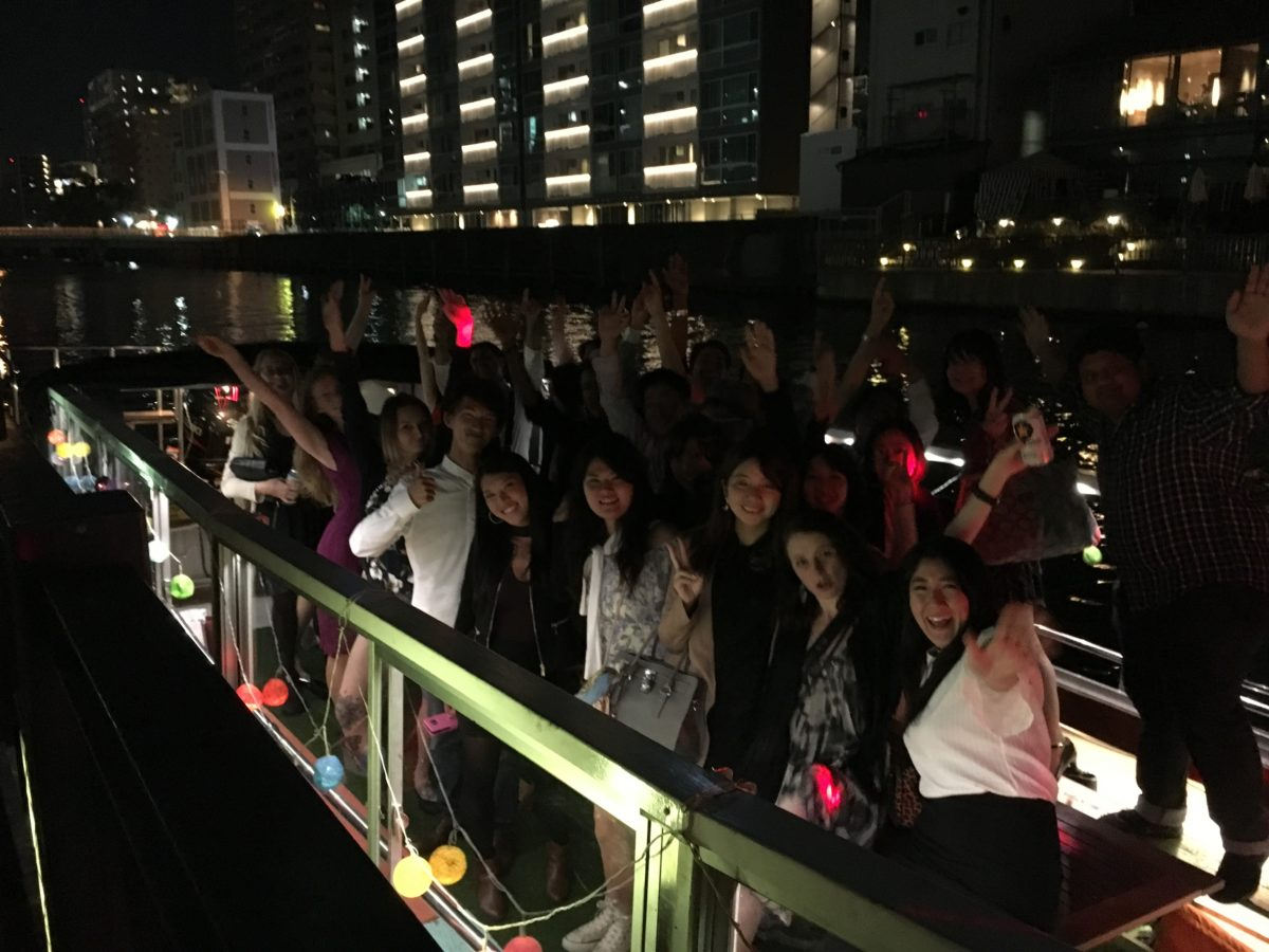 """Cherry Blossom Boat Cruise Party"" payment site up!"