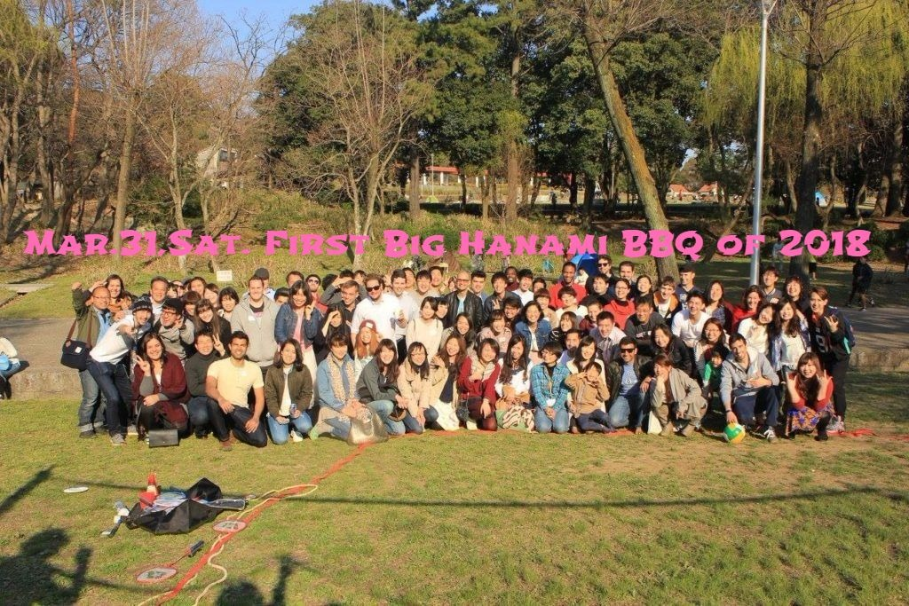 First Big Hanami BBQ of 2018, Discount ticket now on sale!
