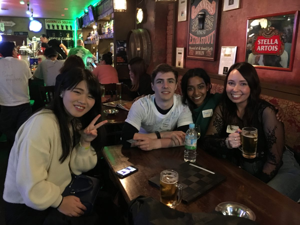 04/14/2018 Osaka Pub Crawl/DRAW ON ME PARTY
