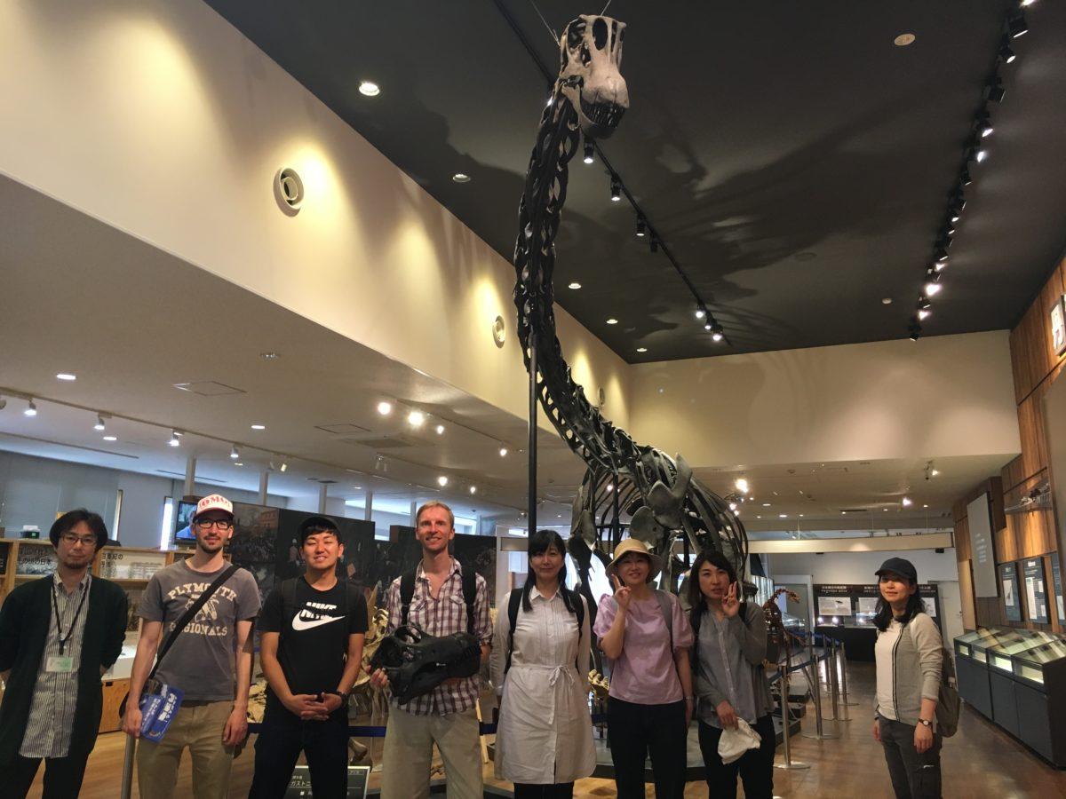 05/27/2018 Kansai's First Dinasaur, Sasayama Ruins & Sake Tasting Day Tour