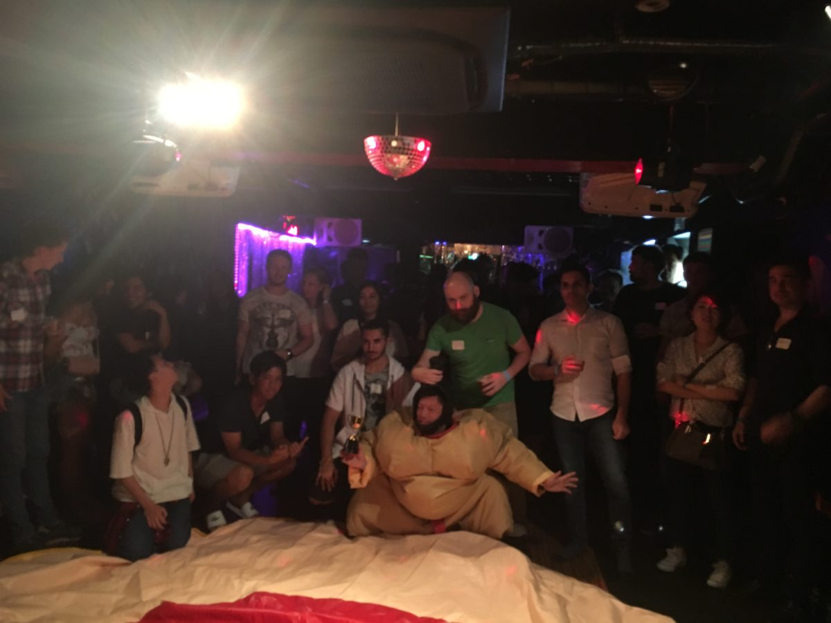 08/18/2018 Sumo Suit Night. Maximum Laughs