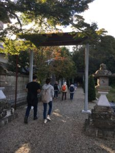 10/28/2018 walk in the countryside: Koi & Goldfish farms + museum