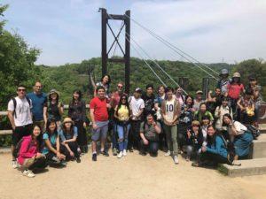 04/22/2018 Longest wooden footbridge in Japan Trek
