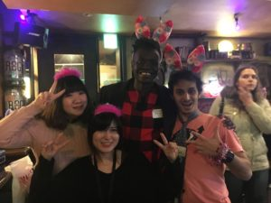 03/10/2018 Osaka Pub Crawl #123 (Cecilia, Kaori, Oscar & Anas)