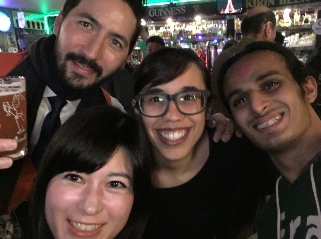 12/29/2018 END OF THE YEAR PUB CRAWL (Andy, Jessica, Anas & Kaori)