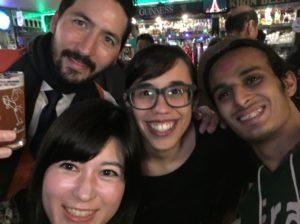 12/29/2018 END OF THE YEAR PUB CRAWL (Andy, Jessica, Anas & Kaori)