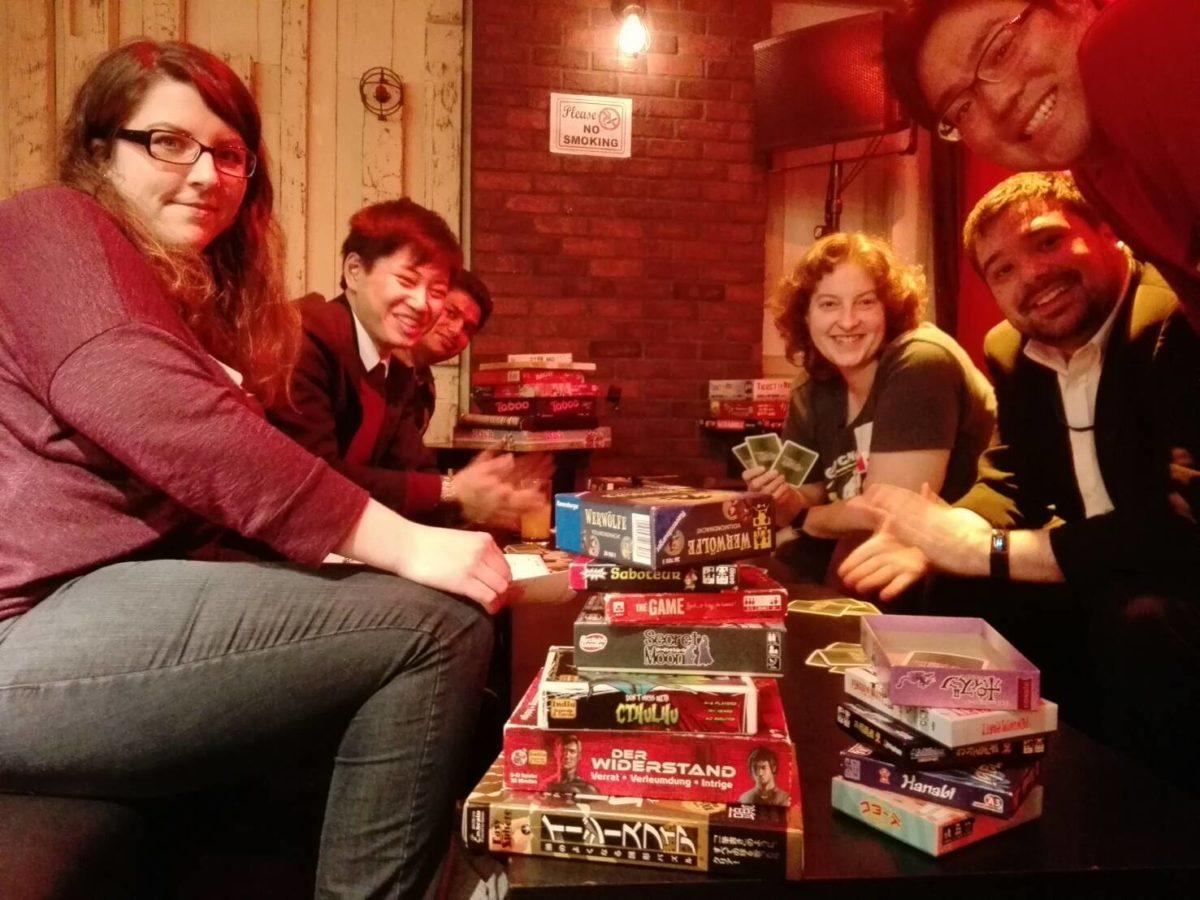 02/21/2019 FREE International Gathering#7 & Board games Night#54