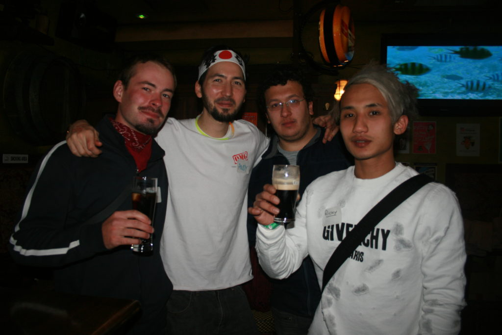 01/02/2019 Osaka Friday night Pub Crawl