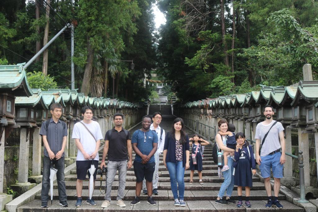07/14/2019 Gorgeous Hozanji Temple Hike