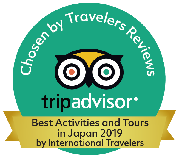 The Backstreet Osaka Tours received Best Activities and Tours in Japan 2019